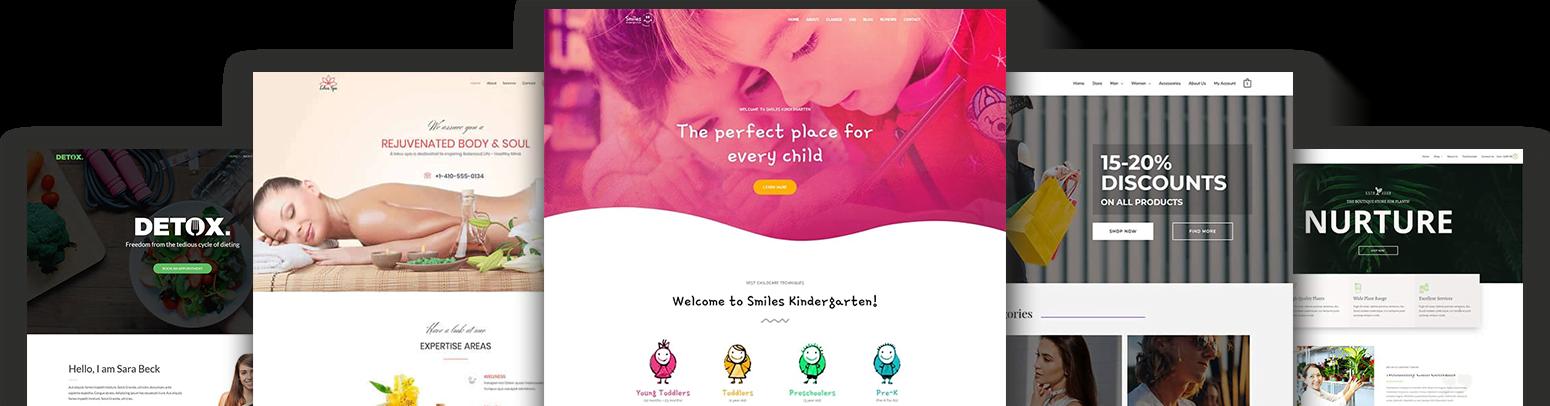 Elementor Pro Starter Site Template